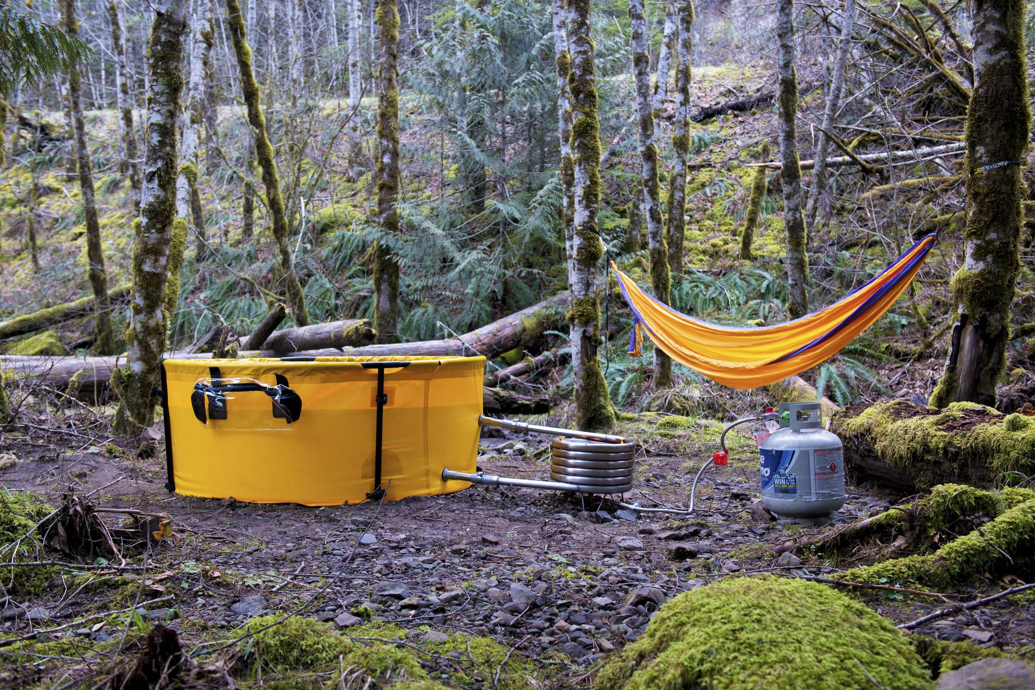 Original Nomad Collapsible Tub & Hammock