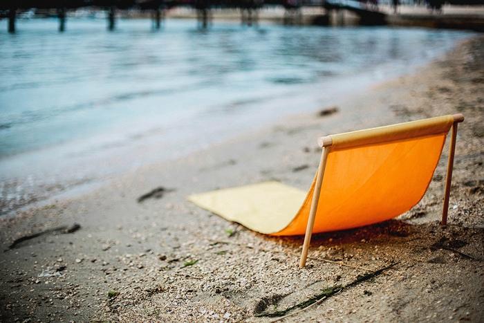 Leano on beach